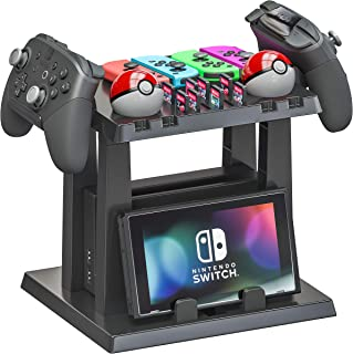 Skywin Organizer and Stand for Nintendo Switch - Storage Stand and Organizer Compatible with Nintendo Switch Accessories -...