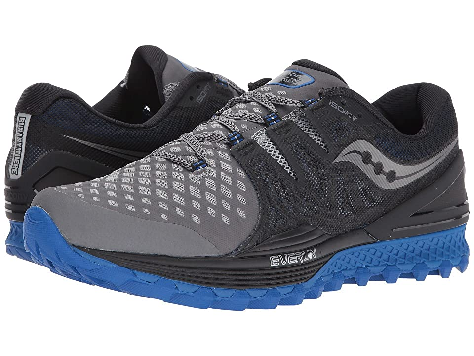 Saucony Xodus ISO 2 (Grey/Black/Blue) Men