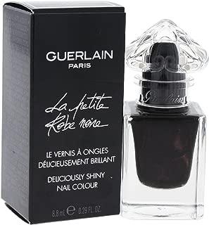 Guerlain La Petite Robe Noire Deliciously Shiny # 007 Black Perfecto Nail Color for Women, 0.29 Ounce