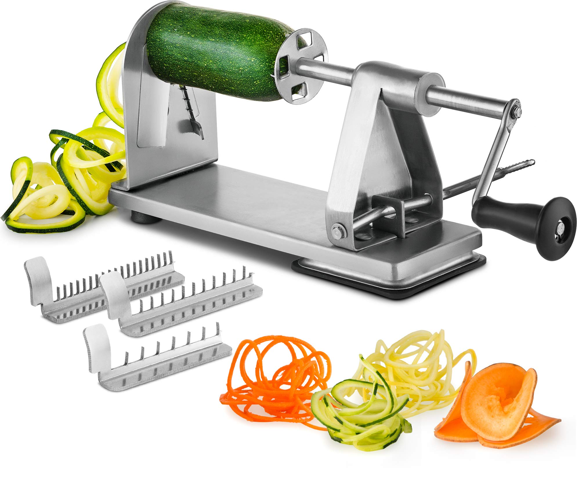 Stainless Vegetable Spiralizer Industrial Grade Restaurant Quality