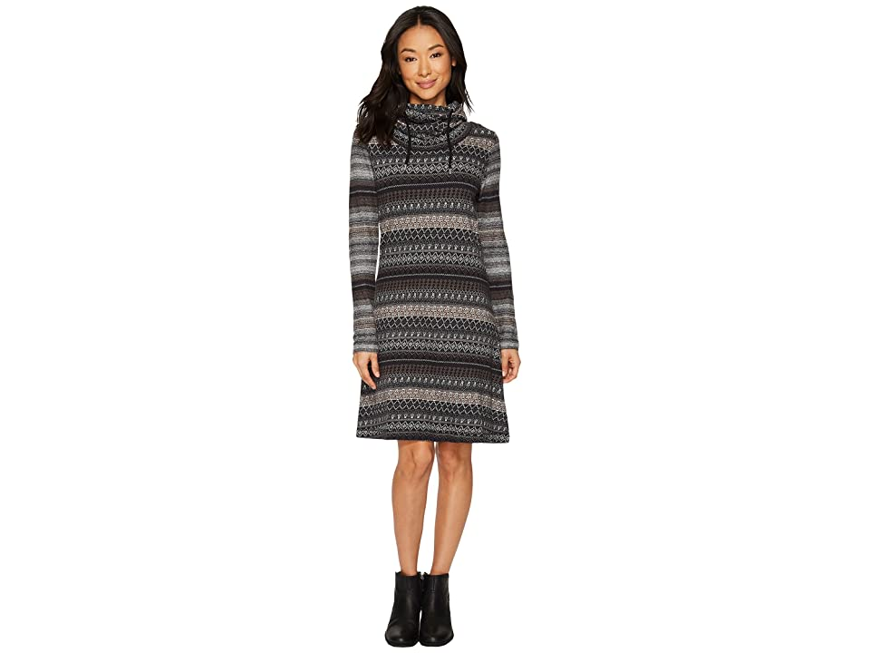 Woolrich Mile Run Dress (Black) Women