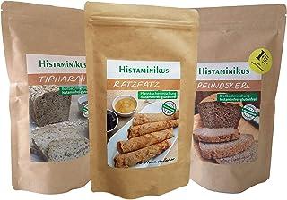 Bio-Backmischungen 3er Bundle | helle und dunkle Brotbackmischung, Pfannkuchenmischung | histaminfrei, glutenfrei