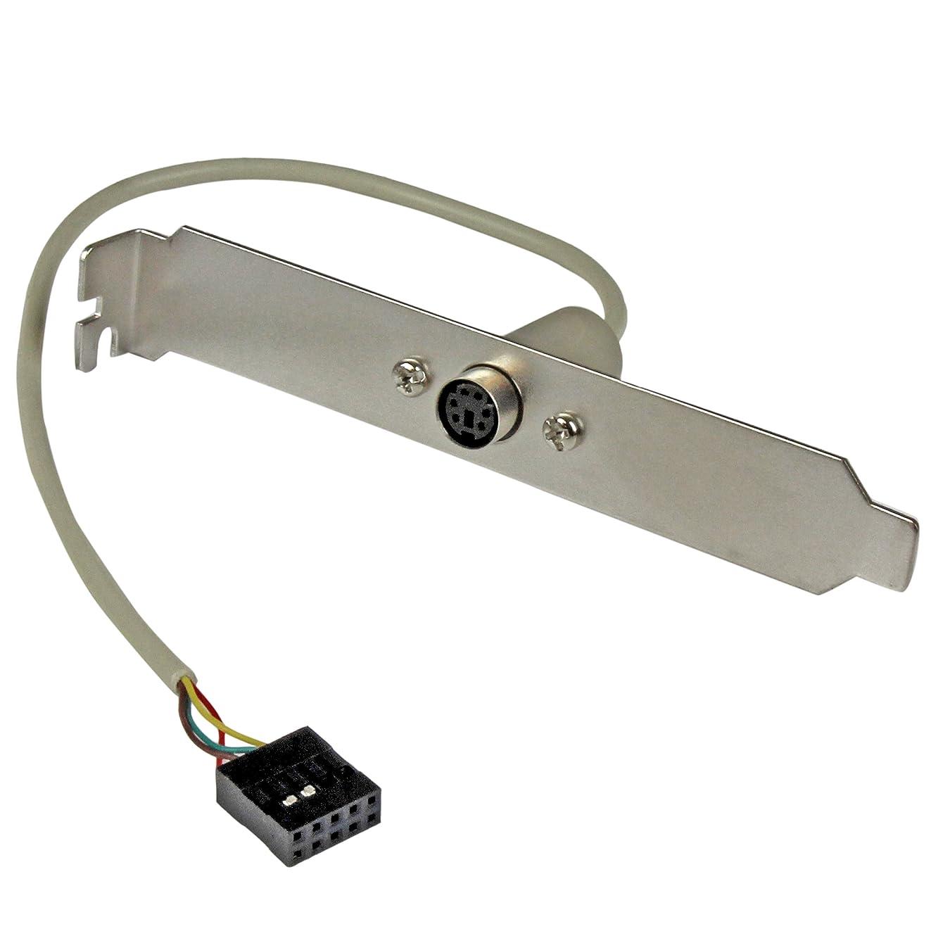 6 Pin MiniDIN PS/2 Mouse Slot Plate Bracket