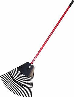 """Bully Tools 92624 24"""" Poly Leaf Rake, Inch"""