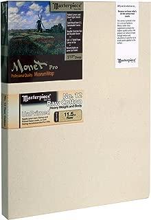12 Masterpiece Artist Canvas 43766 Monet PRO 1-1//2 Deep 32 x 32 Cotton 11.5oz Raw Unprimed No