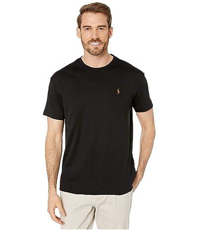 Polo Ralph Lauren Classic Fit Soft Cotton T-Shirt (Polo Black) Men