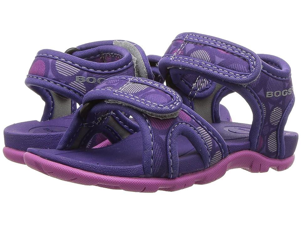 Bogs Kids Whitefish Multi Dot (Toddler) (Violet Multi) Girls Shoes