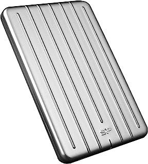 "Silicon Power 2TB Ultra Slim Armor A75 Shockproof/Anti-scratch USB 3.0 (USB 3.1 Gen 1) 2.5"" Portable External Hard Drive f..."