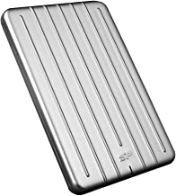 "Silicon Power 2TB Ultra Slim Armor A75 Shockproof/Anti-scratch USB 3.0 (USB 3.1 Gen 1) 2.5"" Portable External Hard Drive for for PC, Mac, Xbox One, Xbox 360, PS4, PS4 Pro and PS4 Slim -Aluminum, Silve"
