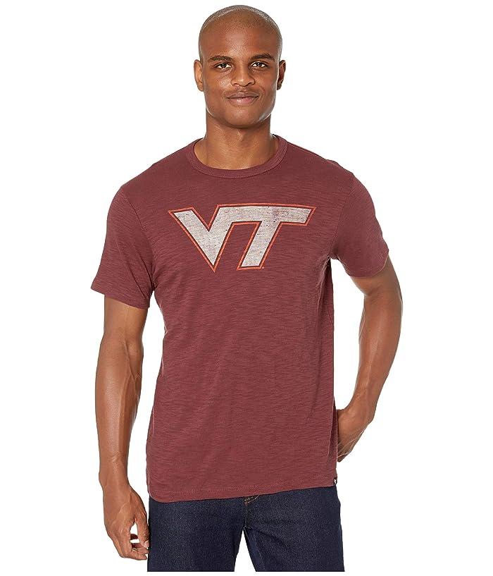 Virginia Tech Hokies Grit Scrum Tee Maroon
