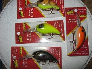 ARKIE 350 Series Crankbaits (set of 4)