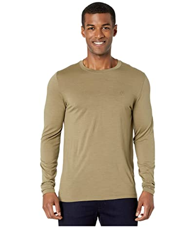 Fjallraven Abisko Wool Long Sleeve (Light Olive) Men