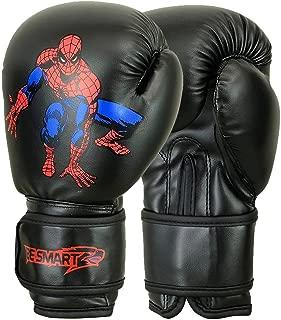 BeSmart Kids Boxing Gloves Junior Mitts 4oz, 6oz Punch Bag Children MMA Youth P