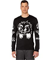 McQ - Long Sleeve Monster T-Shirt