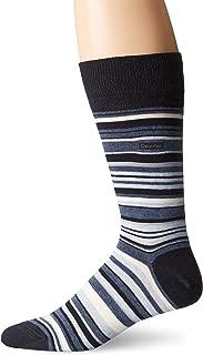 Men's Barcode Multi-Stripe Crew Sock