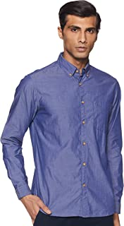 Newport University Men's Regular Fit Casual Shirt