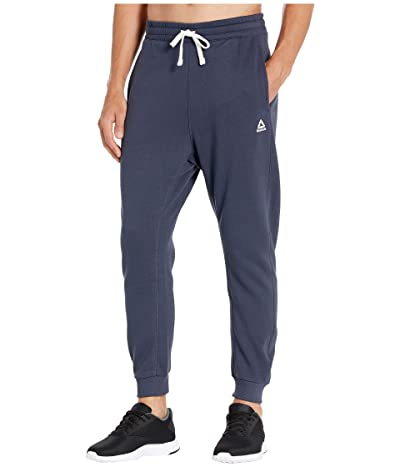 Reebok Training Essentials Big Logo Jogger (Heritage Navy) Men