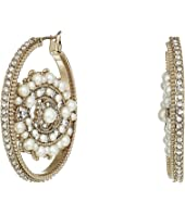 Marchesa - Eye Hoop Earrings