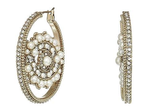 Marchesa Eye Hoop Earrings
