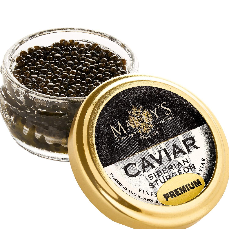 Marky's Siberian Sturgeon Royal Caviar ...