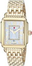 Michele Women's Deco Madison Mid Gold Plated - MWW06G000014