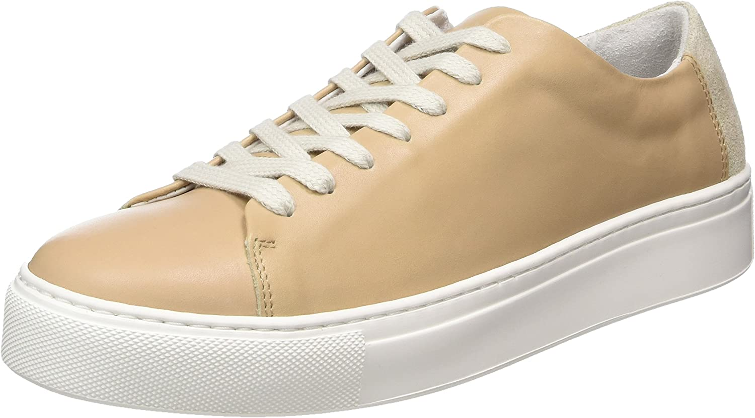 Selected Femme women Sneaker - Nude (Leather) Womens Trainers