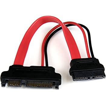 6 Pin Slimline Sata Female to 6 Pin Female Power Cable 8 Inches