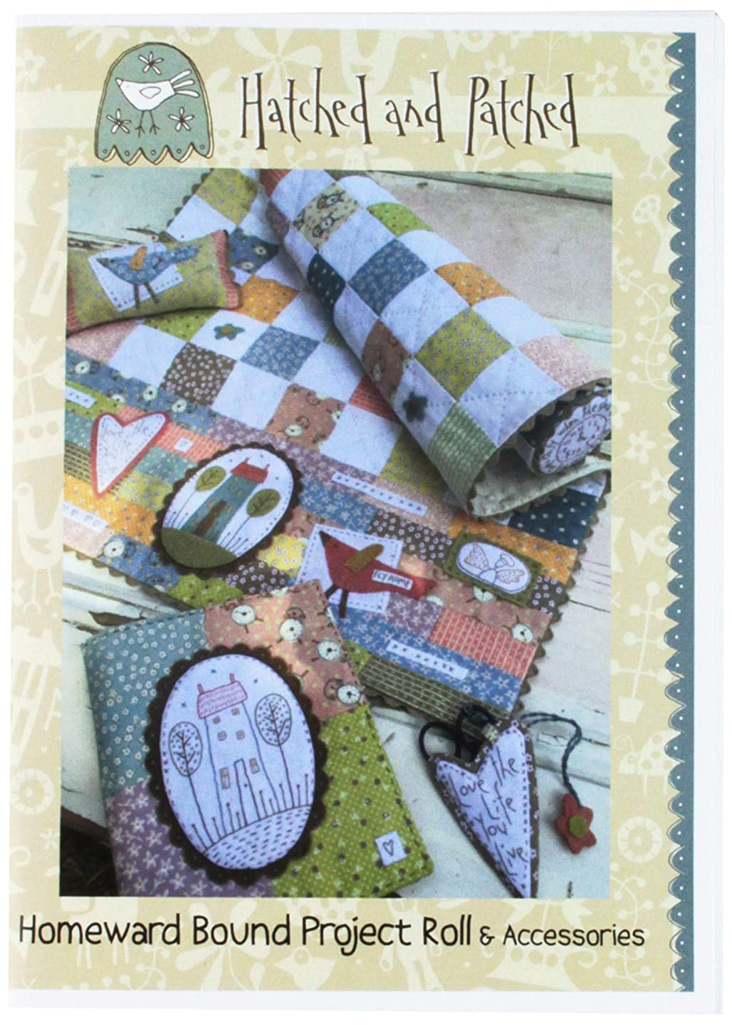 Hatched and Patched HAPP100 Homeward Bound Project Roll Pattern