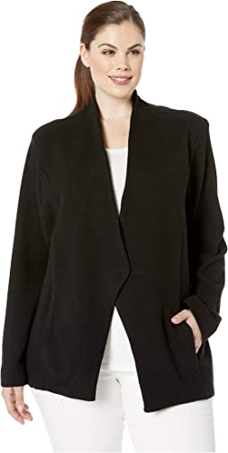Plus Size Sleek Jacket