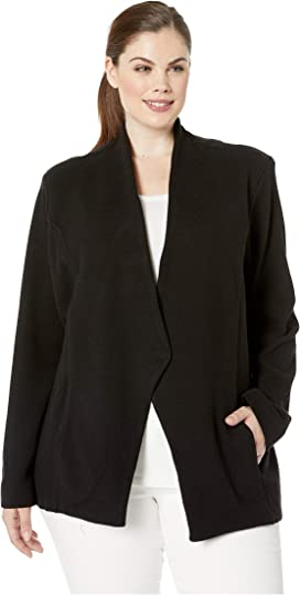 5ee7173f8c2 LAUREN Ralph Lauren Plus Size Knit Sweater Blazer at Zappos.com