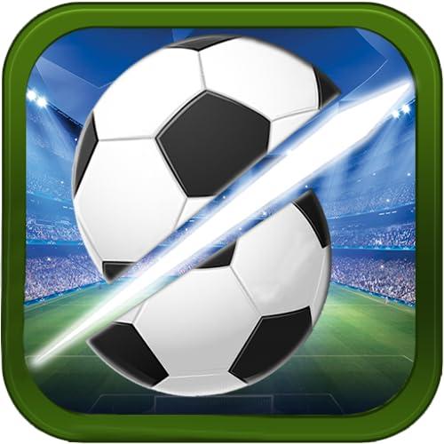 Schneiden Sie den Ninja Fußball