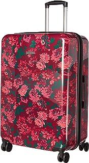"Isaac Mizrahi Aubrey Hardside 29"" 8-Wheel Spinner + 311 Bag, Berry, One Size"