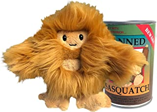 Canned Critters Stuffed Animal: New Sasquatch 6