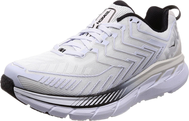 HOKA ONE ONE Clifton 4 Men's Running shoes White Black