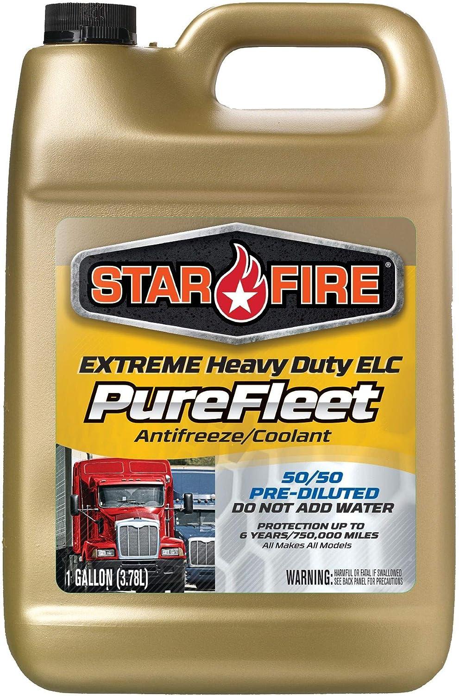 Star Fire Premium Lubricants Purefleet Extreme Superior latest ELC Anti HD 50