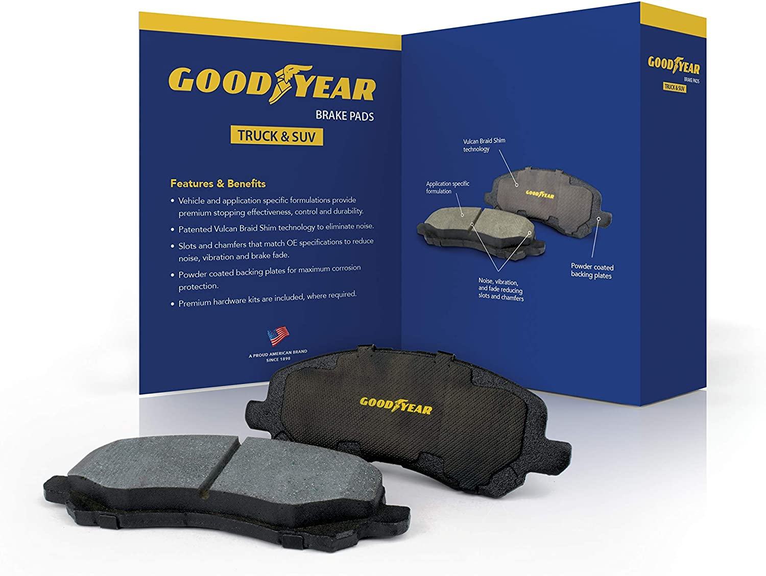Over item handling ☆ Goodyear Brakes GYD857 Premium Carbon Ceramic Front Baltimore Mall Automotive D