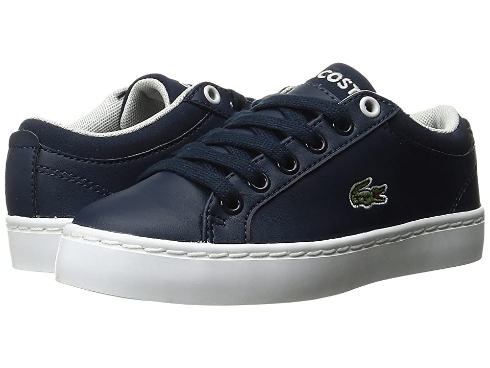 Lacoste Kids Straightset (Little Kid) (Navy) Kid