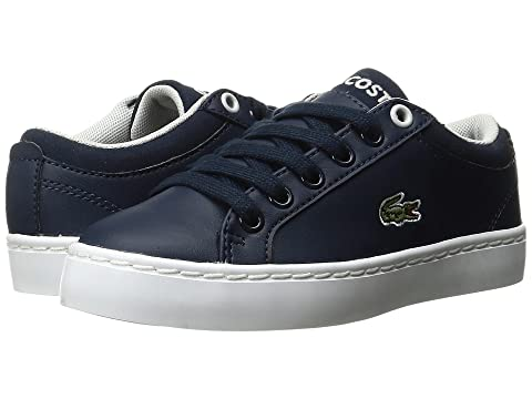 2455e4979 Lacoste Kids Straightset (Little Kid) at Zappos.com
