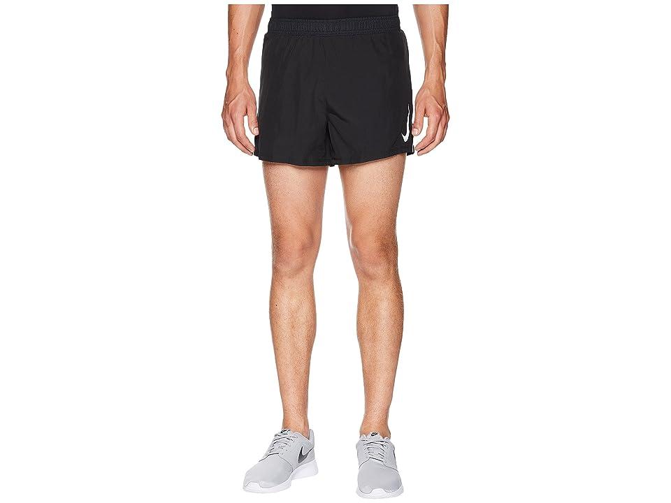 Nike Fast Shorts 4 (Black/Gunsmoke) Men
