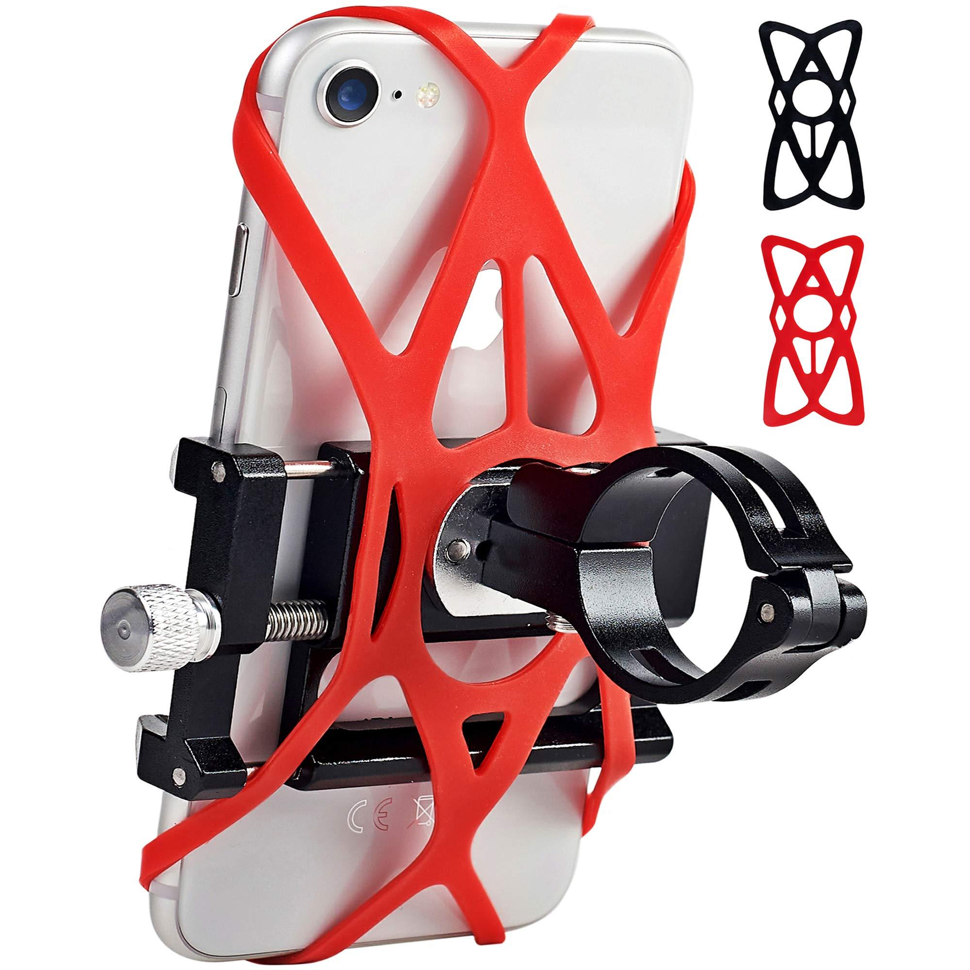 Motorcycle Adjustable Handlebars Compatible Smartphones