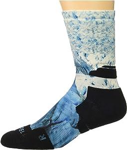 Printed Crew Sock