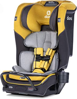 Diono 2020 Radian 3QX Latch, All-in-One Convertible Car Seat, Yellow Mineral