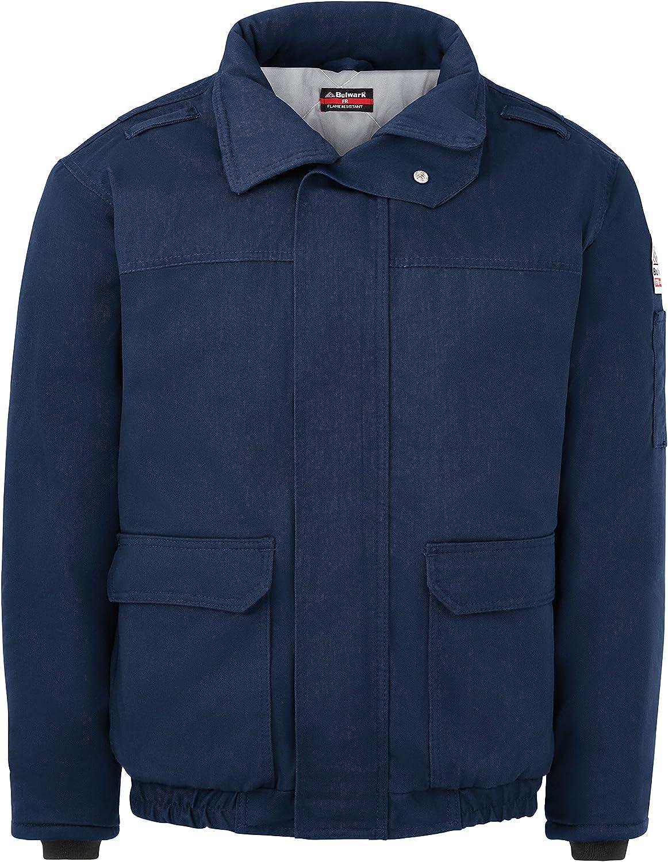 Bulwark Men's Heavyweight Fr Insulated Bomber Jacket