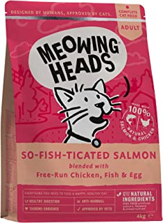 Meowing Heads So-Fish-Ticated Salmon - 4 kg
