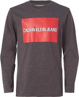 Calvin Klein Boys' Long Sleeve Tee, F20
