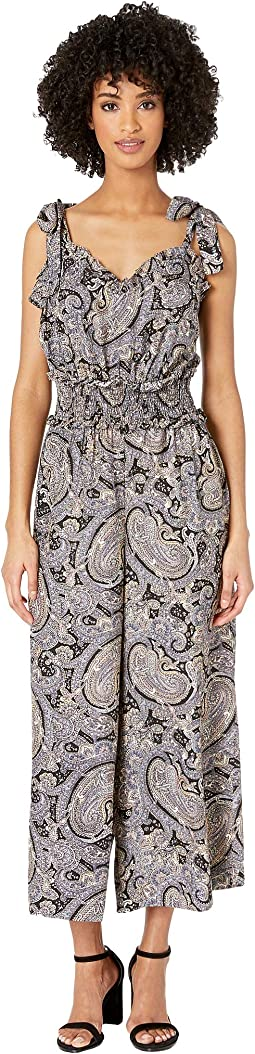 Sleeveless Selene Paisley Jumpsuit