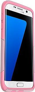 OtterBox Commuter Series Case for Samsung Galaxy S7 Edge - Frustration Free Packaging - Bubblegum Way (Bubblegum Pink/Seashell Pink)