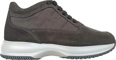 Hogan Scarpe Uomo Sneaker Interactive HXM00N00E108O66Z1A Grigio