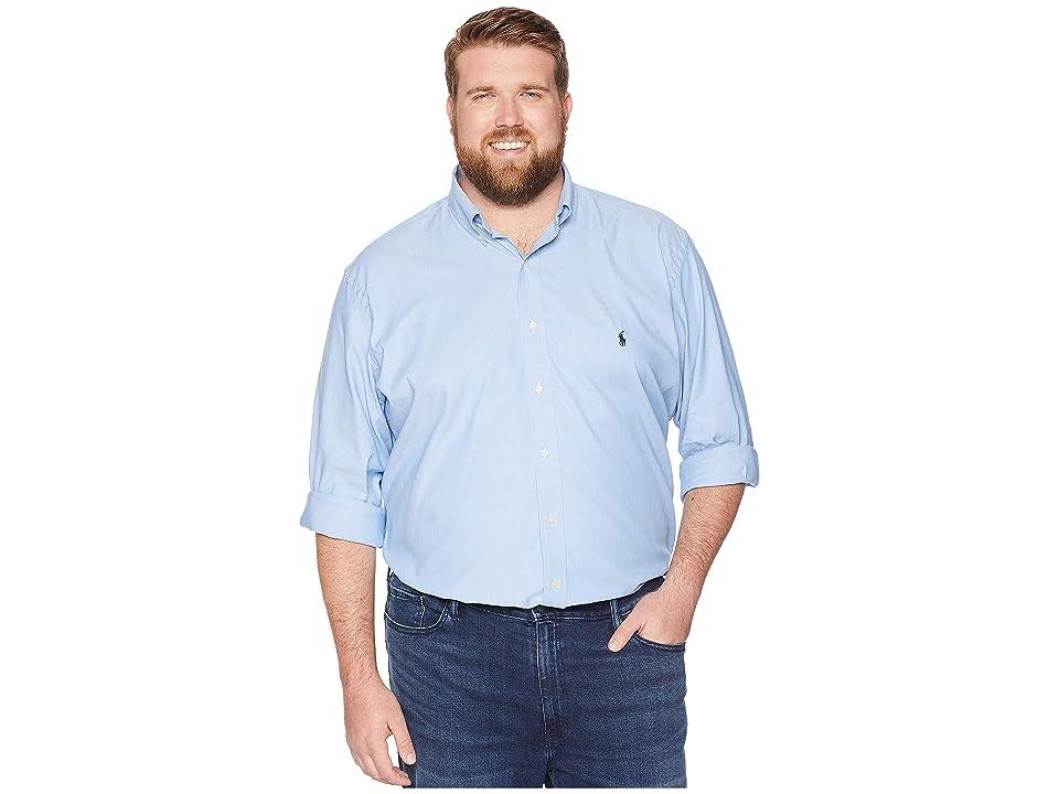 Polo Ralph Lauren Big Tall Performance Woven (Blue) Men