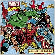 2020 Marvel Comics Wall Calendar (DDD5932820)